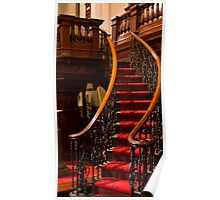0144 Stair Detail Poster