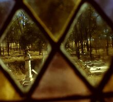 Through The Church Window by Eve Parry