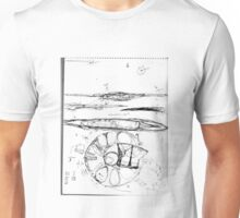 Thoughts on Electromagnetic Induction and Flight Unisex T-Shirt