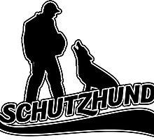 Schutzhund hold and bark by Abbysinthe