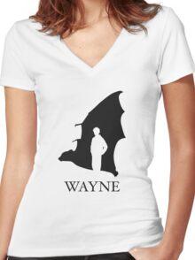 Wayne Women's Fitted V-Neck T-Shirt