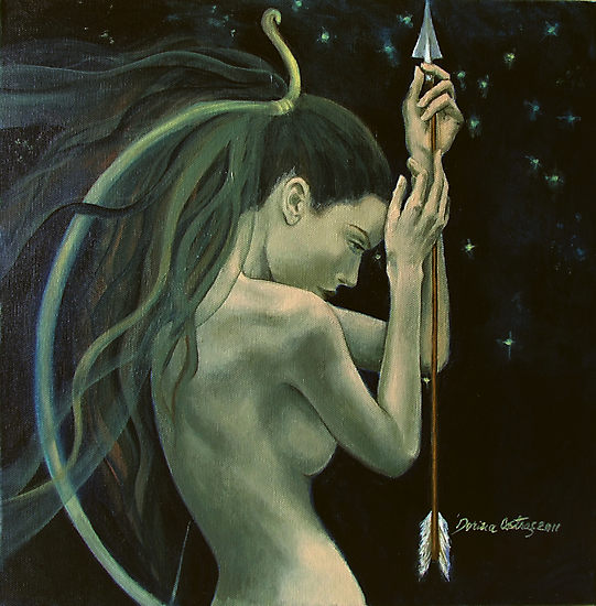 """Sagittarius""…from ""Zodiac signs"" series by dorina costras"