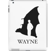 Wayne iPad Case/Skin