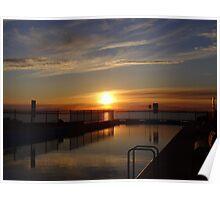 Sunrise, Huskisson, Jervis Bay, NSW, Australia Poster