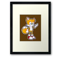 Mini Tails The Fox Framed Print