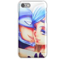 Blue Eyed Maiden + Kaibaman iPhone Case/Skin