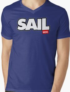 Sail More Mens V-Neck T-Shirt