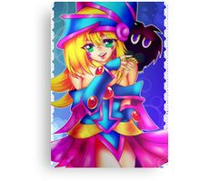 Dark Magician Girl + Kuriboh Canvas Print