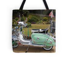 Mint Lambretta Tote Bag