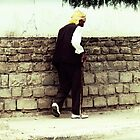 Old Man Walking by Omar Dakhane
