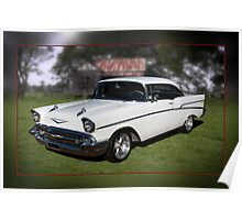1957 Chevy 210 Hardtop Poster