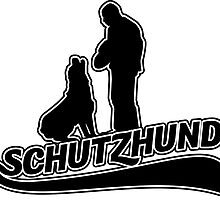 Schutzhund hold and bark with Rottweiler by Abbysinthe
