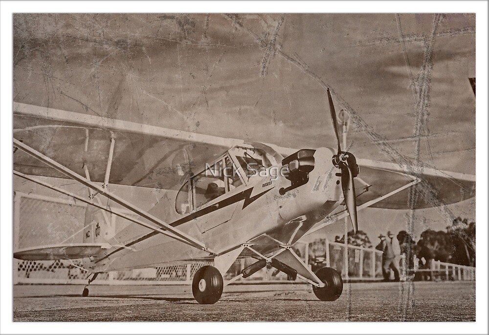Piper Cub NC88073 by Nick Sage
