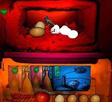 Rothko Refrigerator Squared by Sarah Curtiss