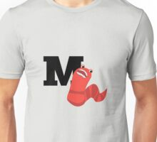 M is for Mongolian Death Worm Unisex T-Shirt