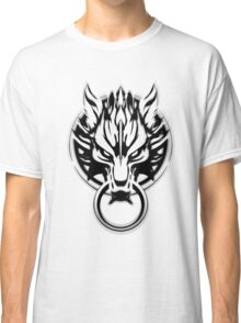 Cloud Strife's Wolf Emblem (Black) Classic T-Shirt