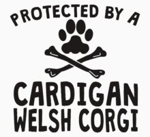 Protected By A Cardigan Welsh Corgi Kids Clothes