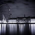 London Eye @ nite by Daniel Chang