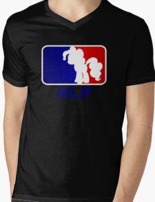 Major League Pony (MLP) - Pinkie Pie Mens V-Neck T-Shirt