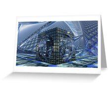 Tessellation Dissolution  Greeting Card