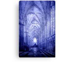 Minster in Blue Canvas Print