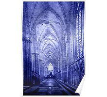 Minster in Blue Poster