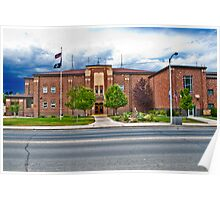 Broadwater County (Montana) Court House 2 Poster