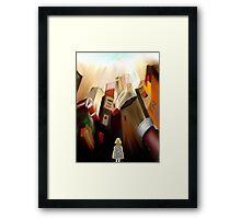 TIMA- Robotic Angel Framed Print