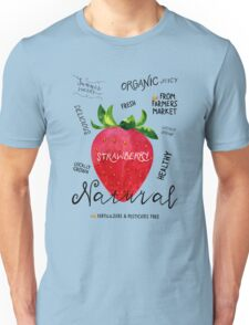 Watercolor strawberry Unisex T-Shirt