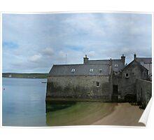 Lerwick Lodberries, Shetland Isles Poster