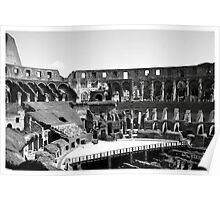 Inside The Colosseum Poster