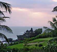 Tanah Lot Temple on Bali by IngeHG