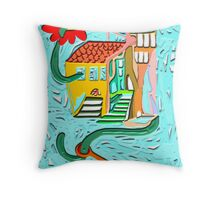 I will kidnap to the love 7 Throw Pillow