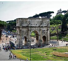 The Arch of Constantine by Ruth Smith