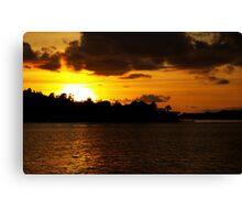 Caribbean Nights Canvas Print