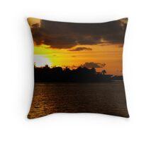 Caribbean Nights Throw Pillow
