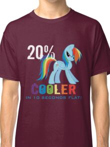 20% cooler in 10 seconds flat Classic T-Shirt