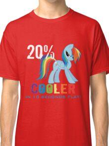 20% cooler in 10 seconds flat Classic T-Shirt
