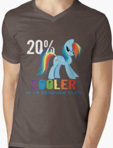 20% cooler in 10 seconds flat Mens V-Neck T-Shirt