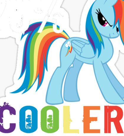 20% cooler in 10 seconds flat Sticker
