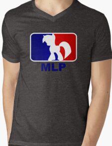 Major League Pony (MLP) - Twilight Sparkle Mens V-Neck T-Shirt