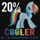 20% cooler in 10 seconds flat! Ladies by kidomaga