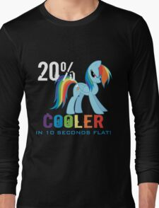 20% cooler in 10 seconds flat! Ladies Long Sleeve T-Shirt