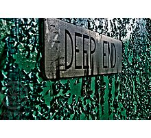 Off the Deep End Photographic Print