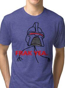 FRAK YEA. Tri-blend T-Shirt