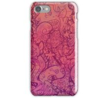 Cartoon Texture iPhone Case/Skin