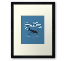 Time Flies Framed Print