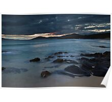 South Harris Sunset Poster