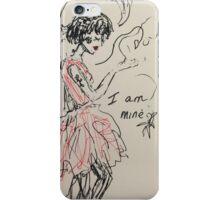 I am Mine iPhone Case/Skin