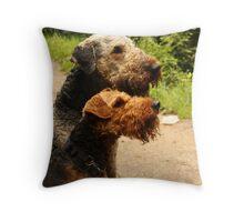 Best behaviour Throw Pillow